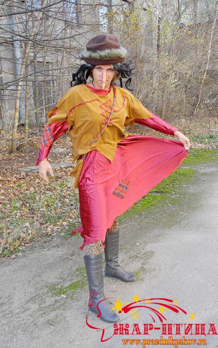 Баба Яга - странница - 450 руб.