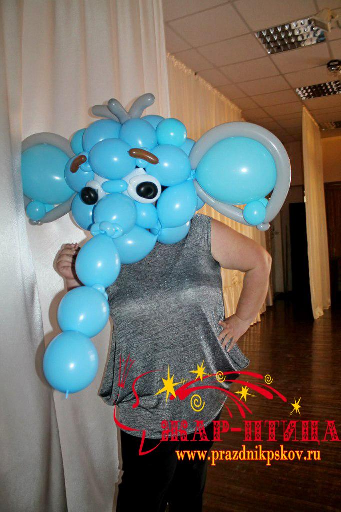 Слон из шаров - 900 руб.