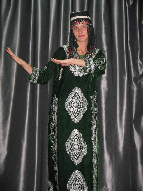 Туркменский костюм