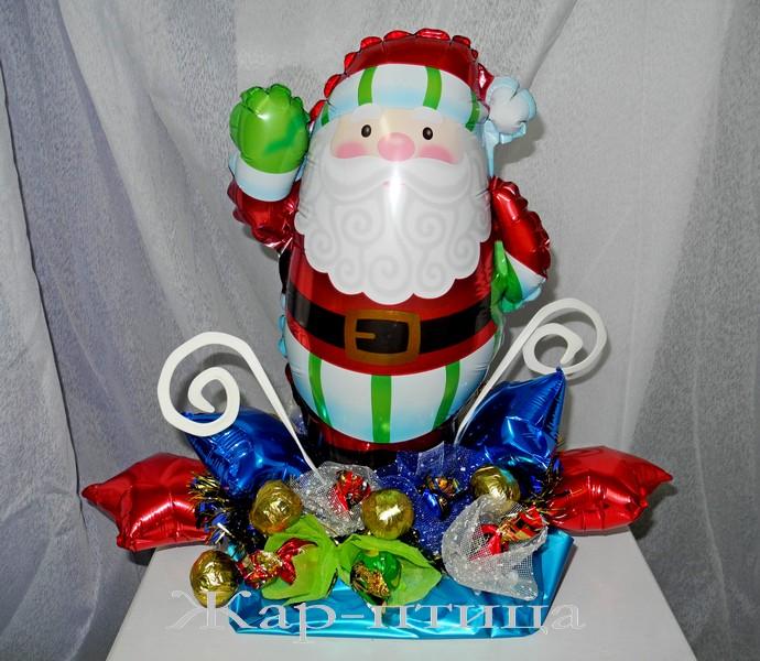 Дед Мороз с конфетами - 600 руб. (включая 10 конфет)