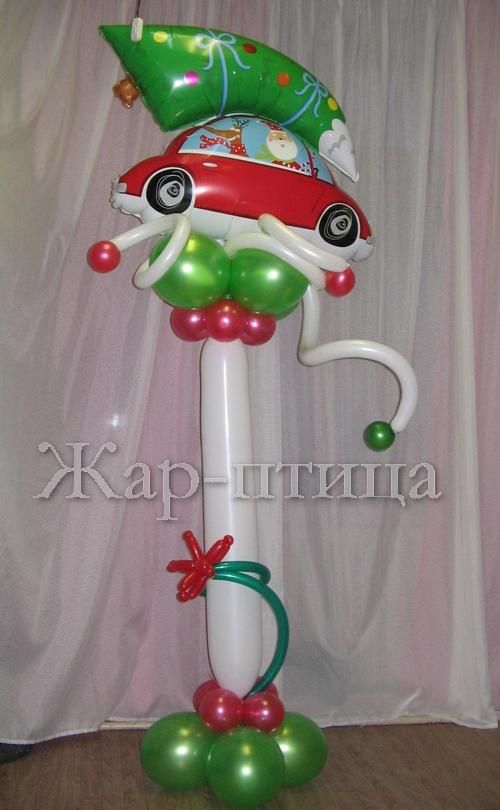 № 11 - Дед Мороз на машине - 650 руб.