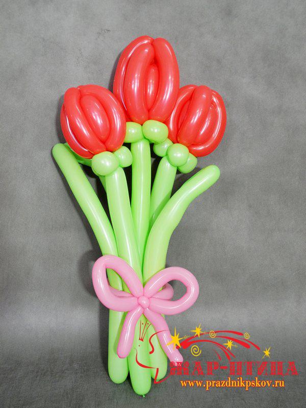 Три тюльпана - 200 руб.