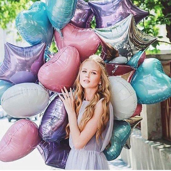 Фольгированные шары 45 см