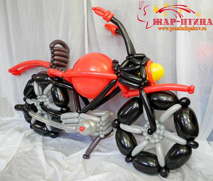 Почти как настоящий мотоцикл