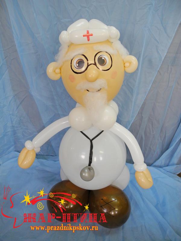 Доктор Айболит (высота ок.80 см) - 800 руб.