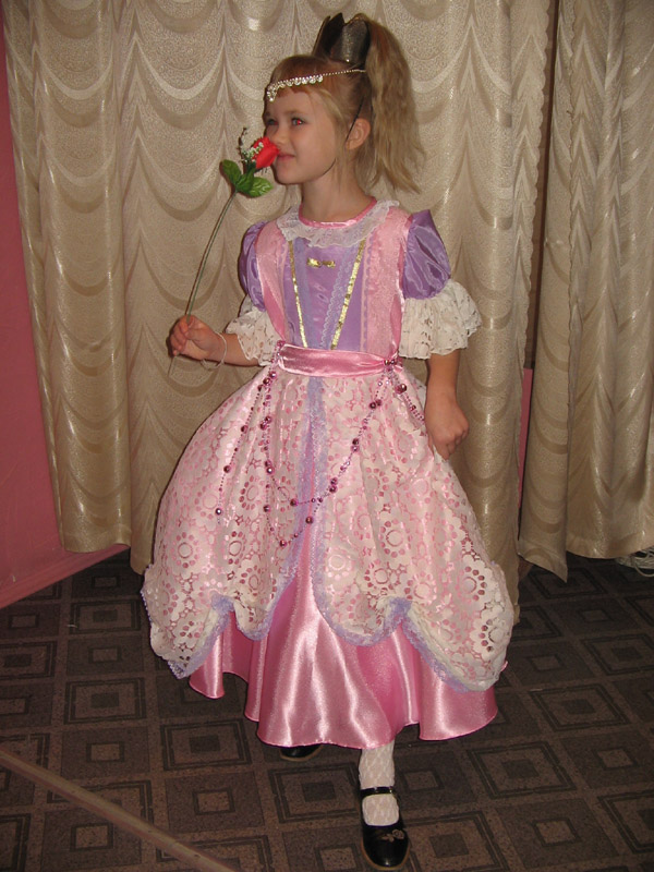 Принцесса розовая - 500 руб.